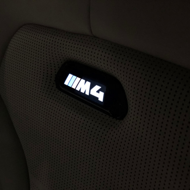 M4 Seating lightup logo