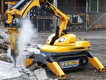 Controlled Demolition Brokk