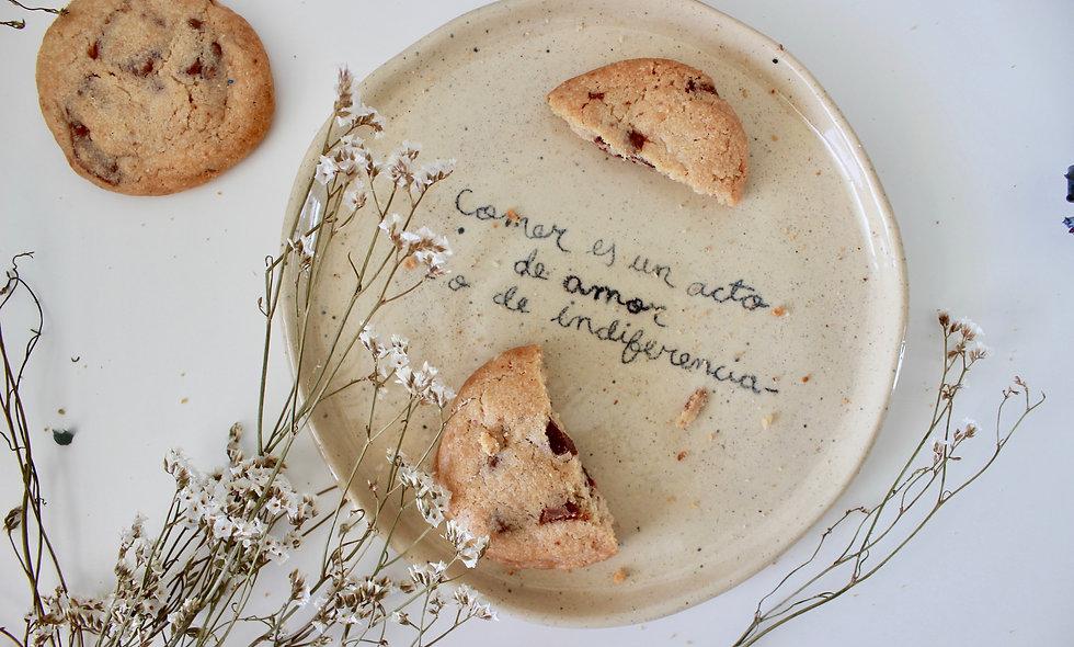 Plato comer es un acto de amor o de indiferencia