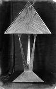 Lampe (ca. 1921), Messing graviert