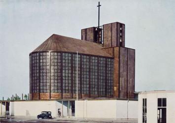 Copyright Otto-Bartning-Archiv der TU Darmstadt (die Stahl Kirche_Buch_S 34_J)