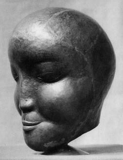 Mädchenkopf (ca. 1926), getrieben, verschollen