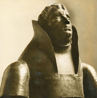Lutherbüste (1928), Kupfer getrieben, von der Lutherstatue abgetrennt,  Pressa Köln 1928, Weltausstellung Chicago 1933, verschollen