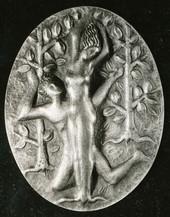 Anhänger, Daphne und Apollo (ca. 1937), ziseliert