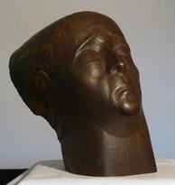 Hiob (1948), Kupfer getrieben, 38 cm hoch