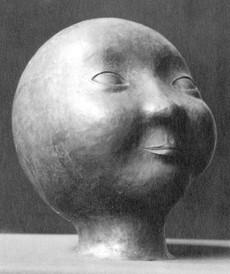Kopf (ca. 1926), getrieben, verschollen