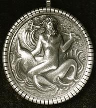Anhänger, Poseidon (ca. 1936), ziseliert