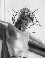 Kruzifix (1932), Kupfer getrieben, Havelberg, Weltausstellung Chicago 1933, verschollen