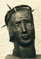 Sehet, welch ein Mensch (ca. 1947), Kupfer getrieben, 40 cm hoch