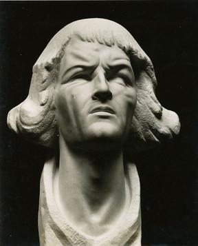 Kopernikus (1943), Marmor, für Frauenburg, verschollen