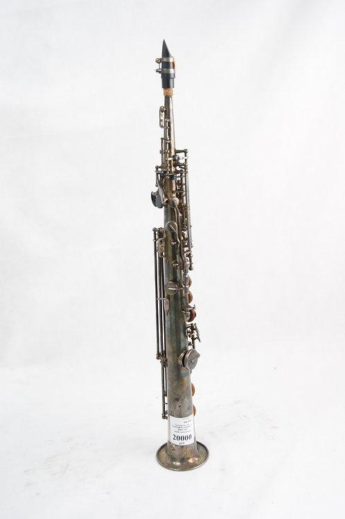 Саксофон сопрано B&S (ГДР)+кейс+мундштук