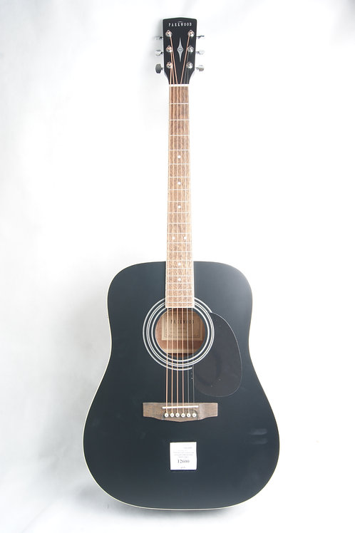Электроакустическая гитара Parkwood W81E-BKS