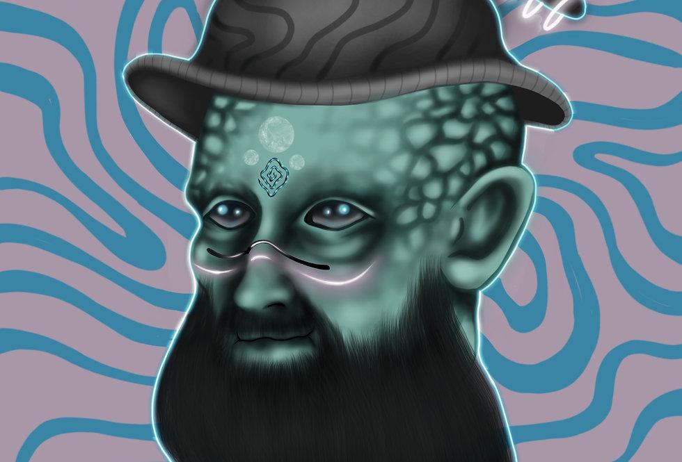 Magic Man Gloss Print
