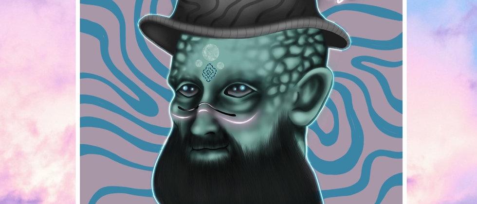 Magic Man Print