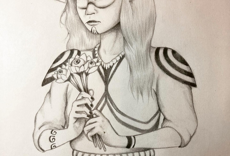 BLOOM Original Drawing