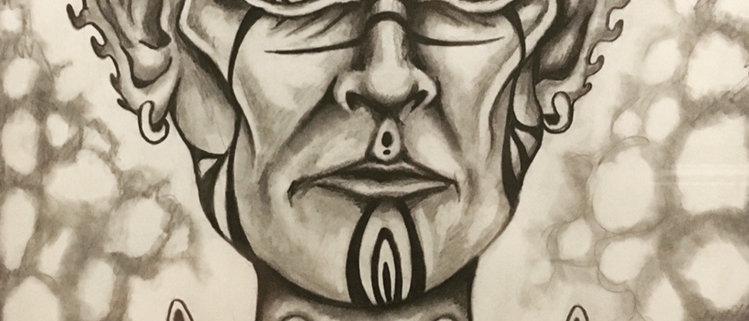 Cerebral I Original Drawing