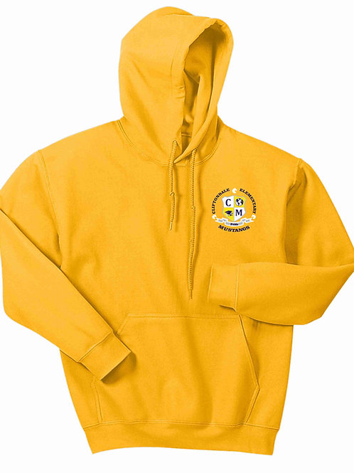"Gold Pullover ""C/M Shield"" Logo"