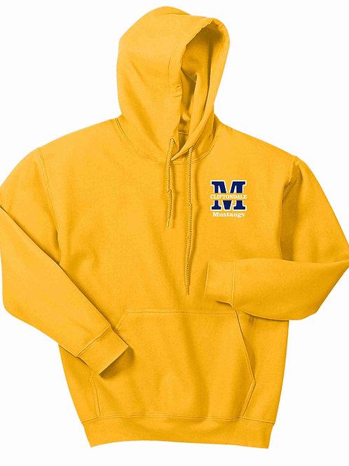 "Gold Pullover ""M"" Logo"