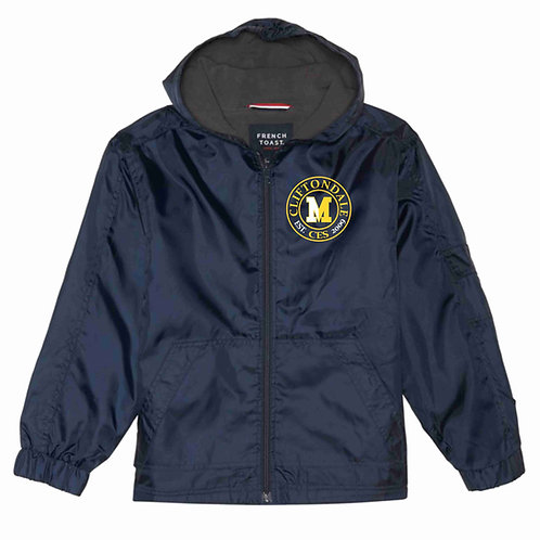 Navy Rain Jackets (Circle Logo Only)