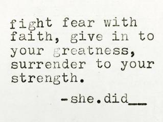 She.did__! Week 1