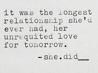 She.did__! Week 3