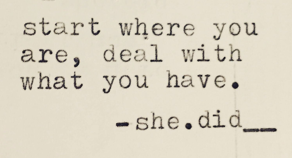 she.did__! positive affirmation