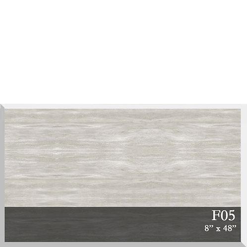 Wood Look Porcelain 8x48, F05M Carbon Platinum
