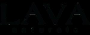Lava naturals Black Logo