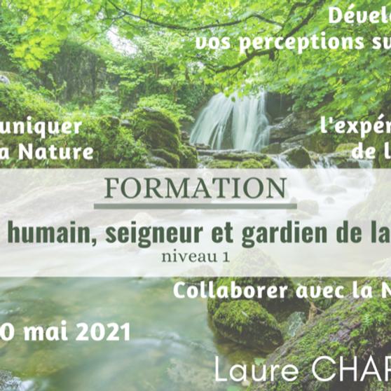 """Formation """"L'être humain, seigneur et gardien de la terre"""" niveau 1"""