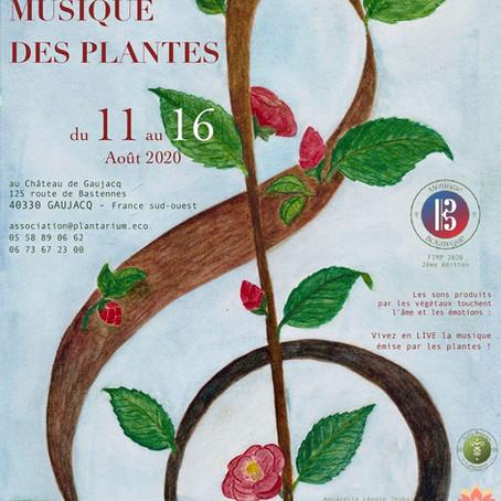 Programme du Festival de Musique des plantes 11-16 août 2020