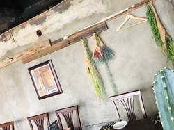 飲食店内壁掛けフェイクグリーン