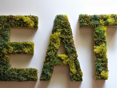 Letters × moss