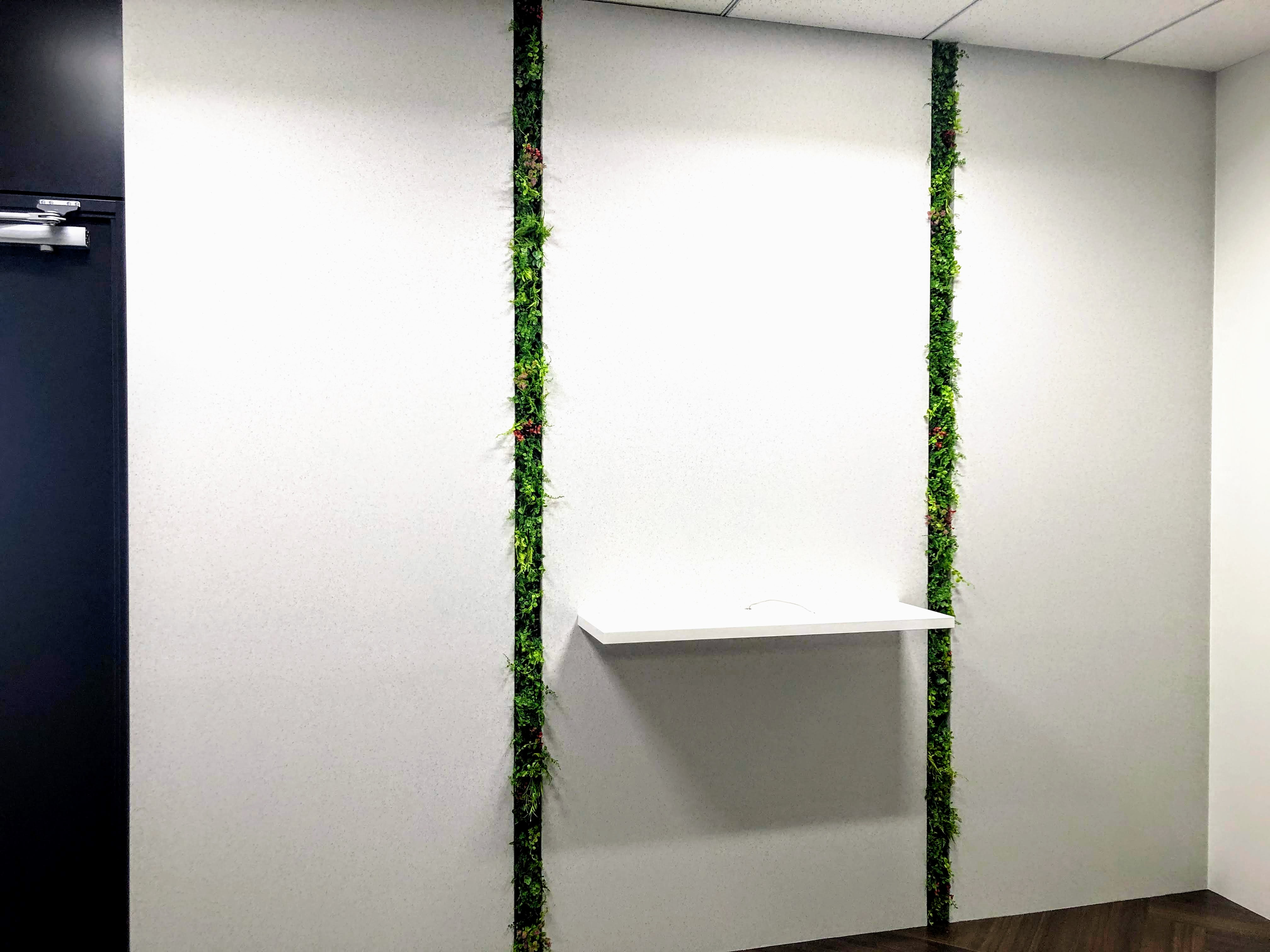 壁面緑化・フェイクグリーン装飾