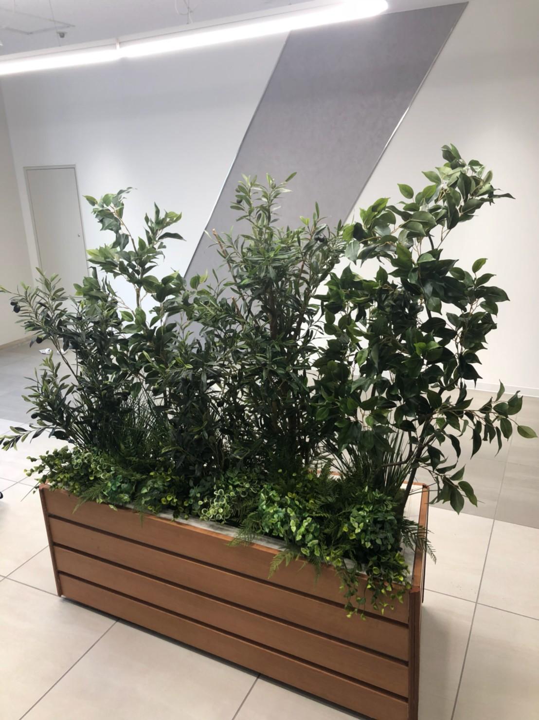 プランターボックス ・造作・フェイクグリーン