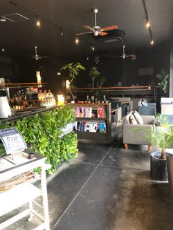 刈谷・spoonycafe・観葉植物