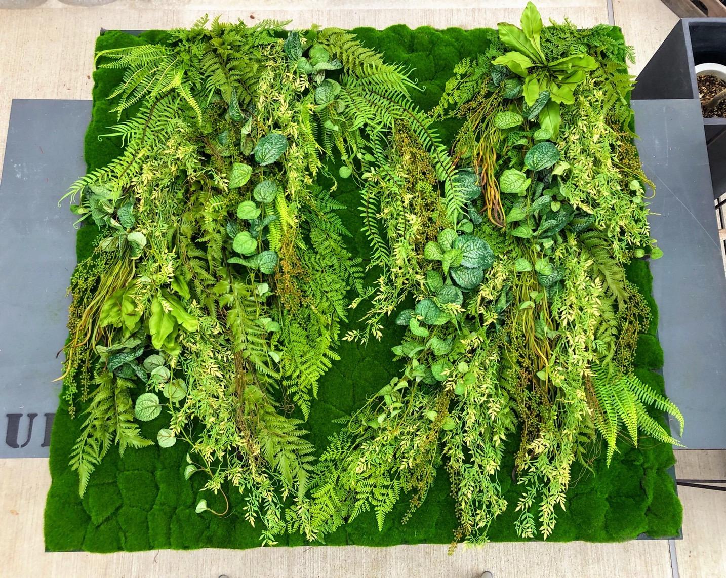 壁面緑化パネル