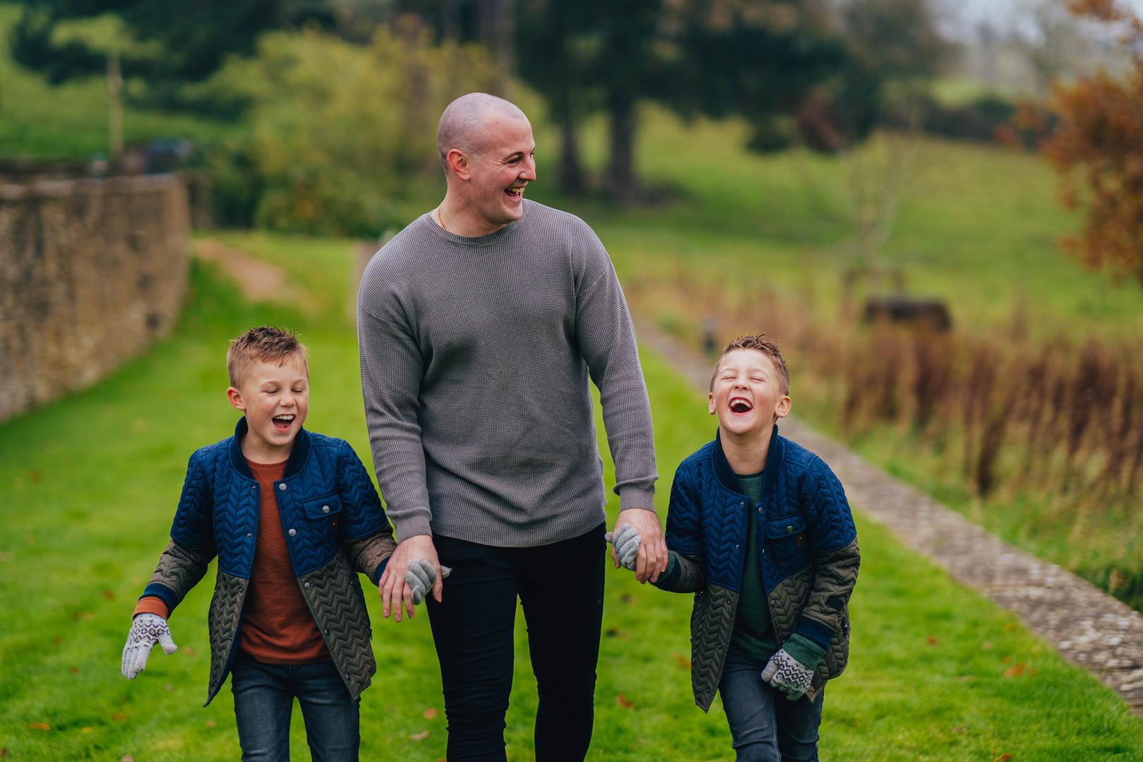 Autumn Family Shoot in Cheltenham, Charl