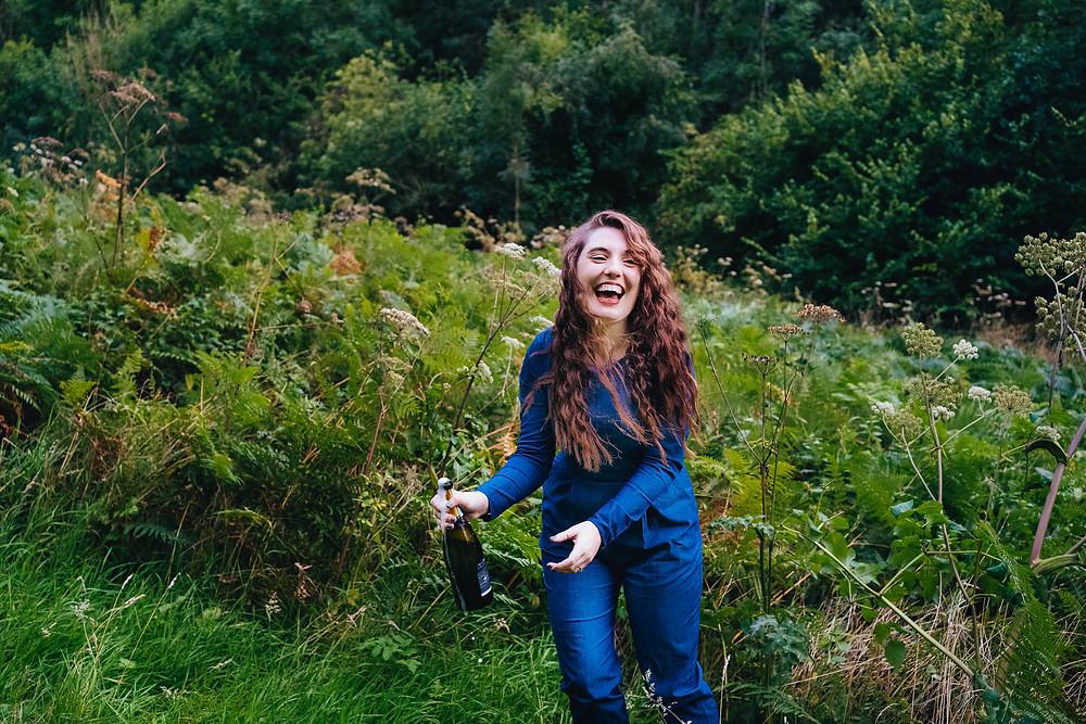 Fun Woodland Engagement Shoot in Cheltenham