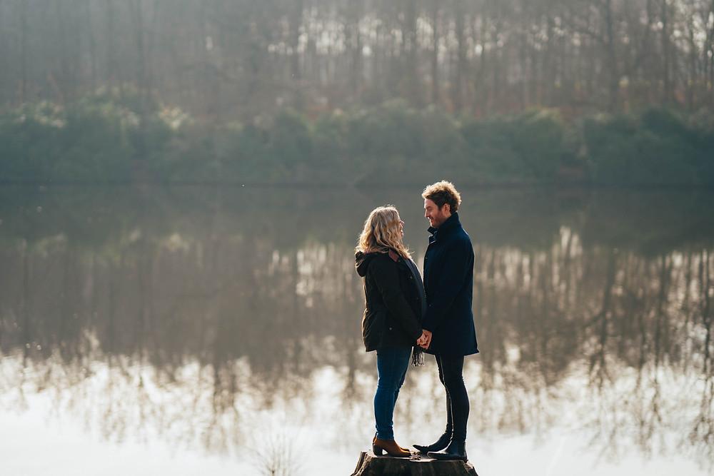 Surrey Engagement Shoot at The Savill Garden