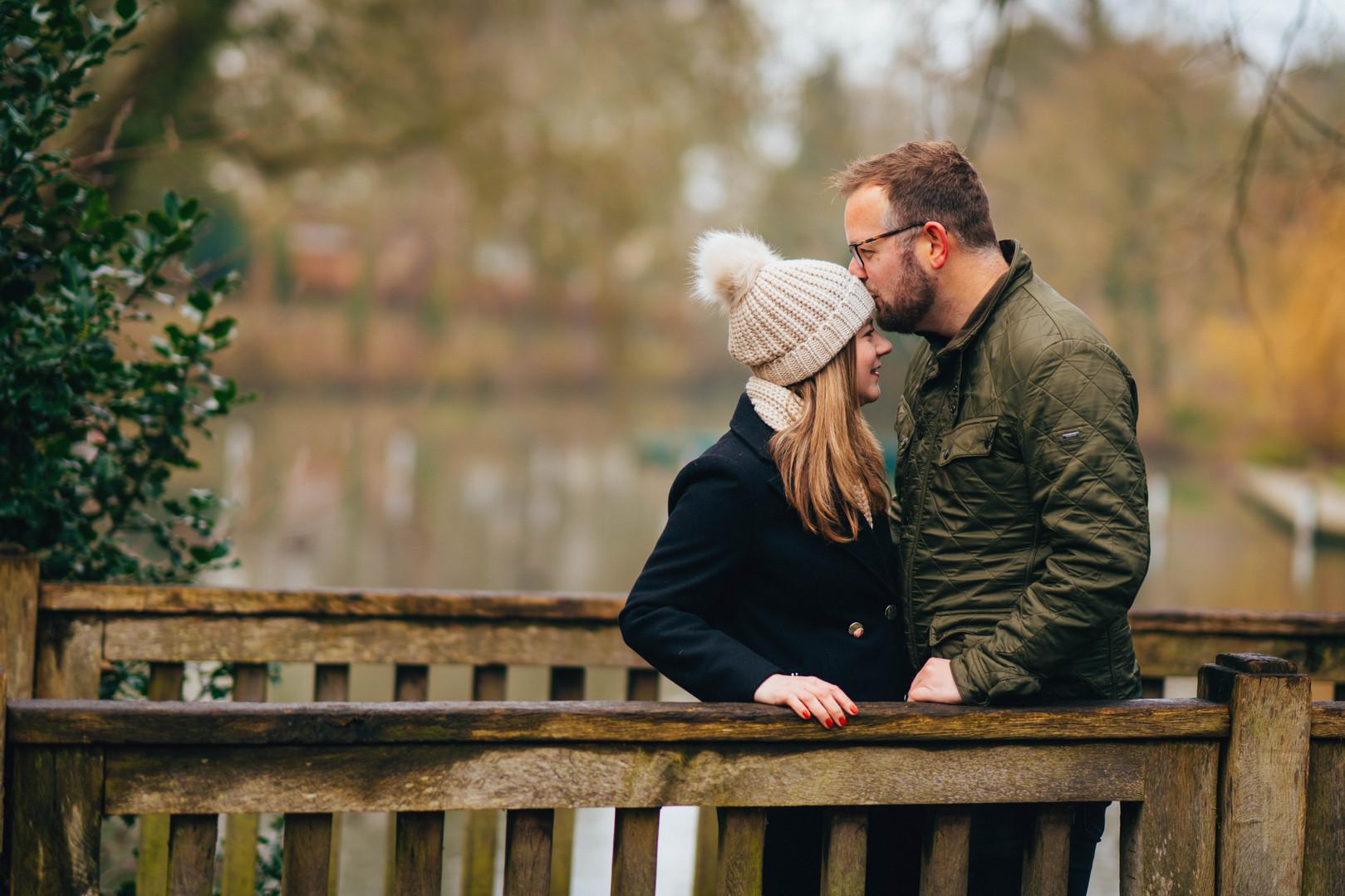 H&R, Pitville Park Engagement Shoot, Cha