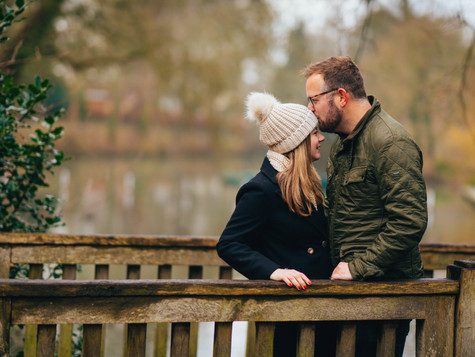 Autumn Engagement shoot at Pittville Park