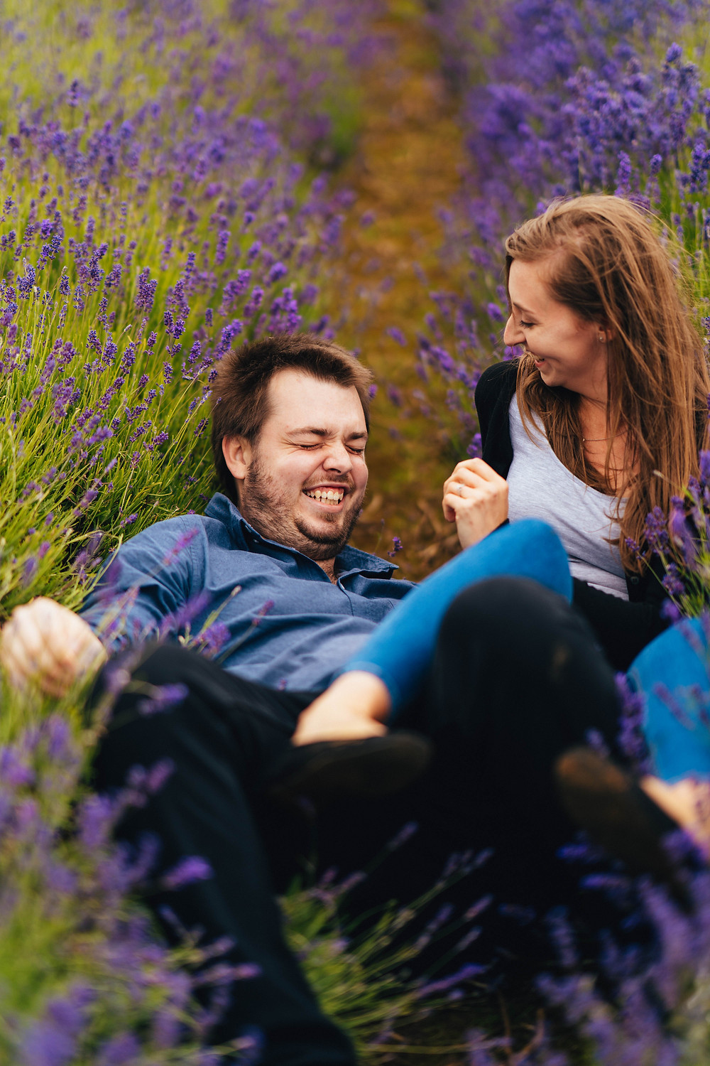Tips For Loving Your Engagement Shoot, Cotswold Wedding Photography, Lavender Fields