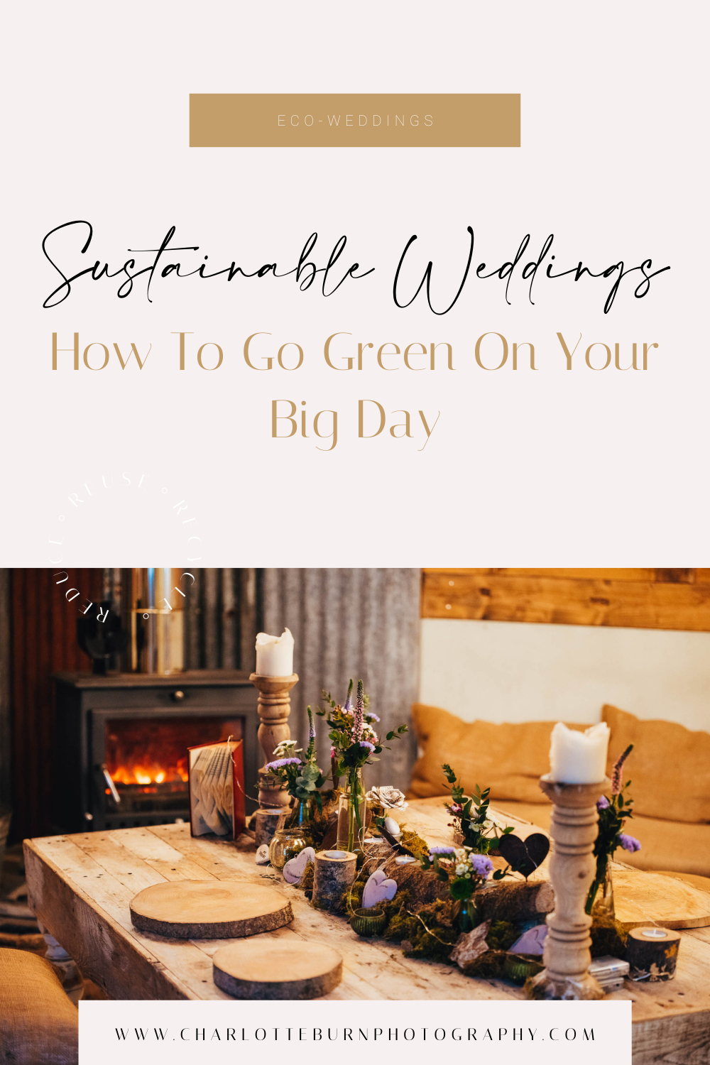 Sustainable Weddings: How To Go Green On Your Big Day