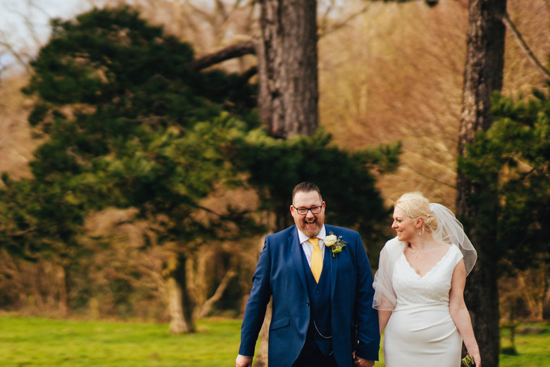J&N, Winter Wedding, Glenfall House, Cha