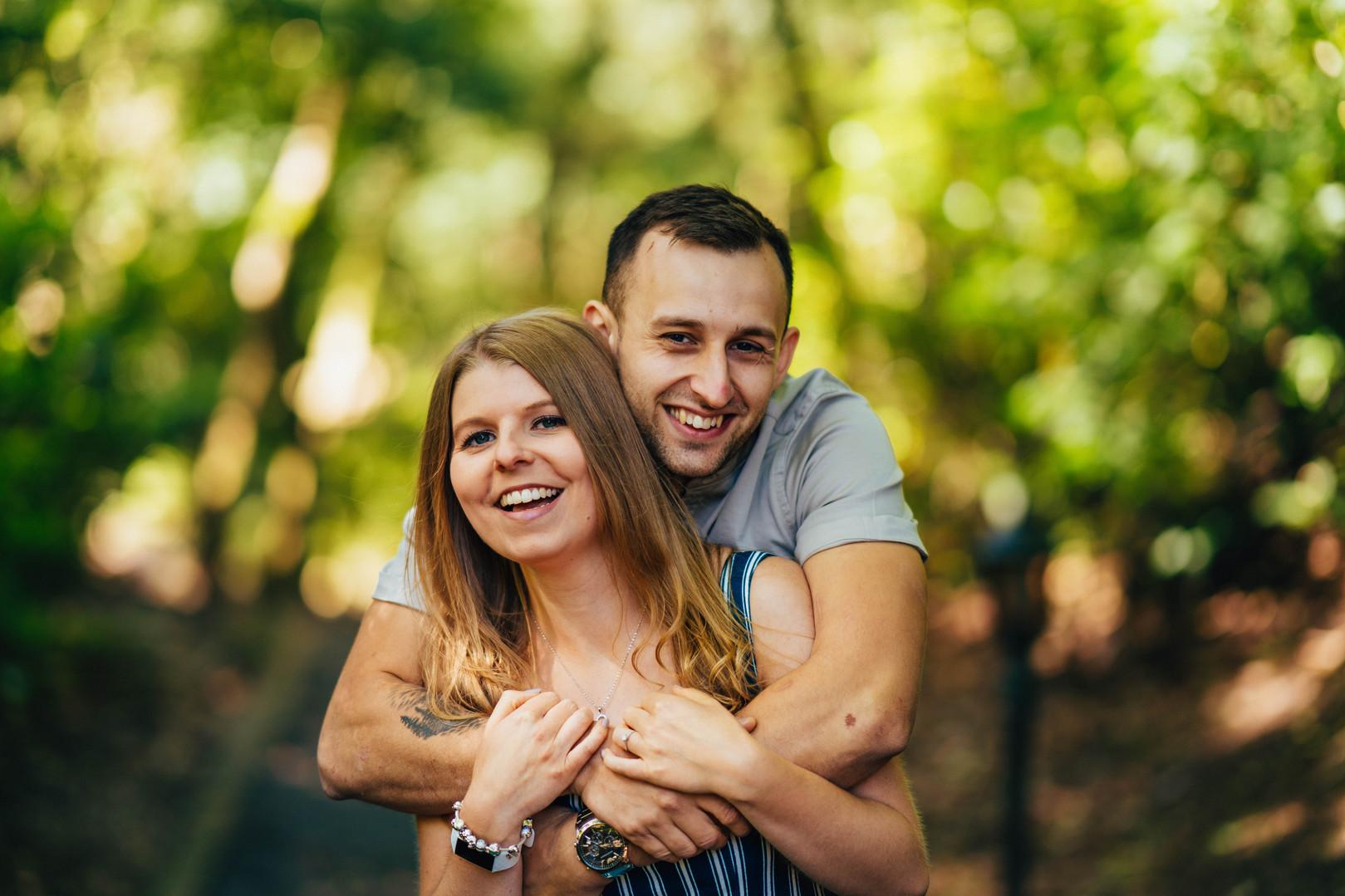 S&B, Engagement Shoot, Moddershall Oaks,