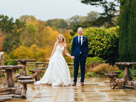 Intimate outdoor wedding in Cheltenham