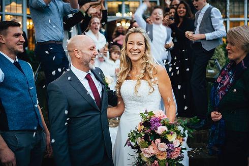 G&P Winter Wedding, Weybridge Registry O