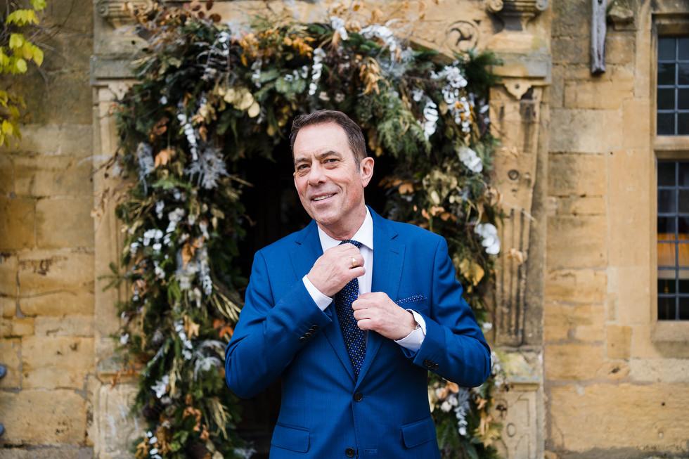 S&T Winter Wedding, The Lygon Arms, Broa