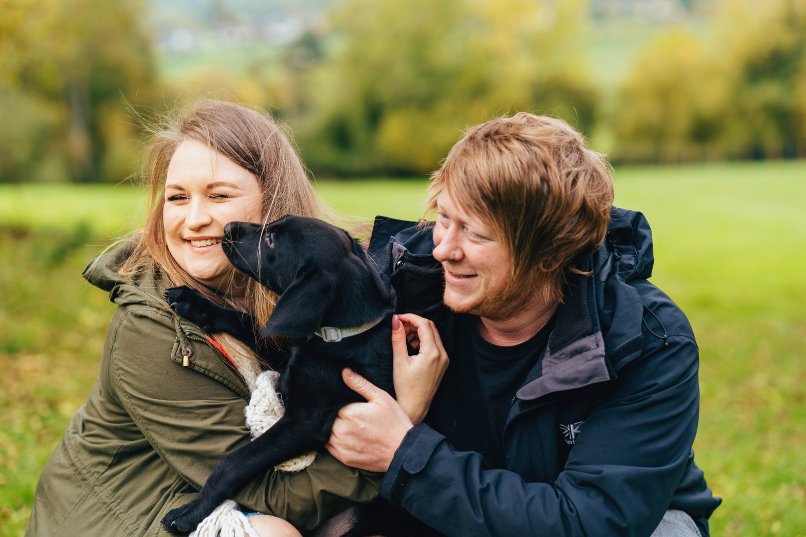 Emily, Tim & Doggies, Engagement Shoot,