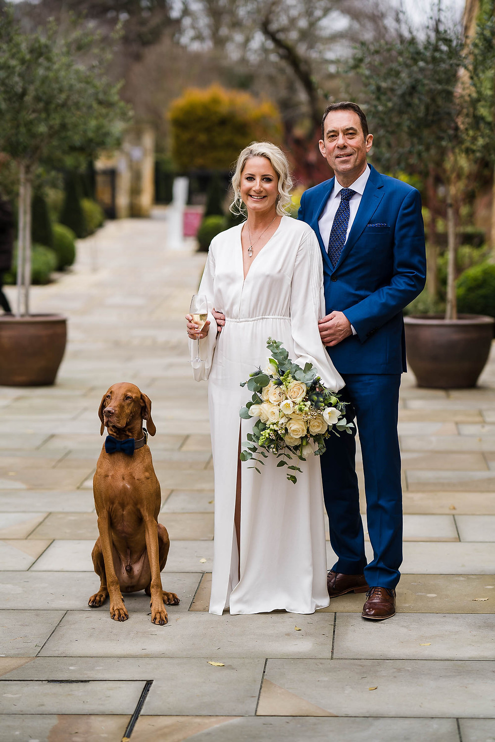 Intimate Winter Wedding at The Lygon Arms Hotel, Broadway